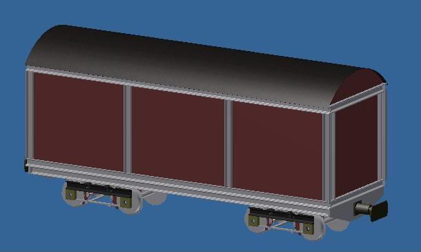 Der gedeckte Güterwagen